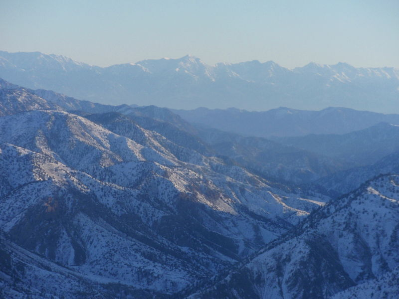 Mountains between Khost and Paktia