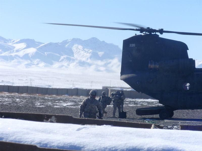 Chinook, FOB Gardez
