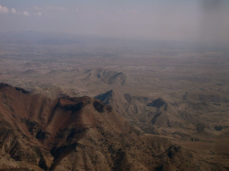 Aerial view of Khost